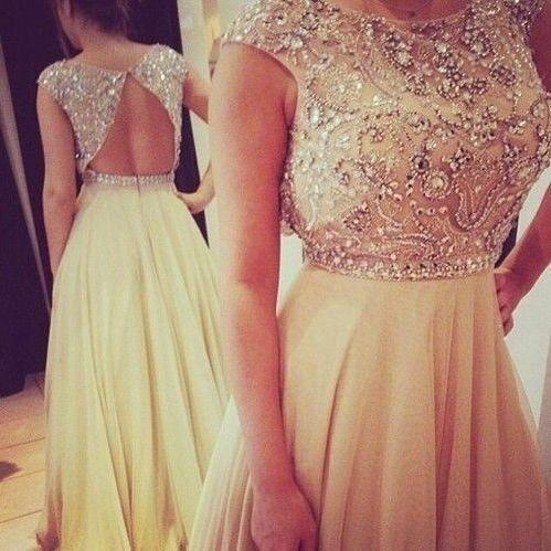Long Chiffon Prom Dress, Party Dress, Evening Dress