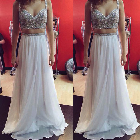 Charming Chiffon Prom Dress, Party Dress